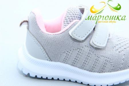 Кроссовки Kimboo (Солнце) MT50-1F для девочки серые