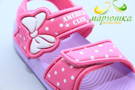 Босоножки American Club NH35/20F для девочки