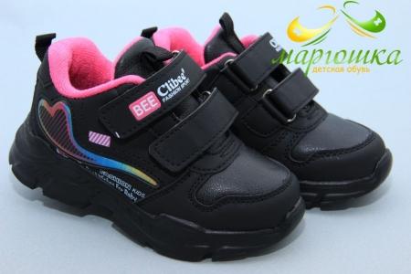 Кроссовки Clibee F931 для девочки чёрные