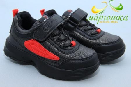 Кроссовки Clibee F932-2 для мальчика чёрные