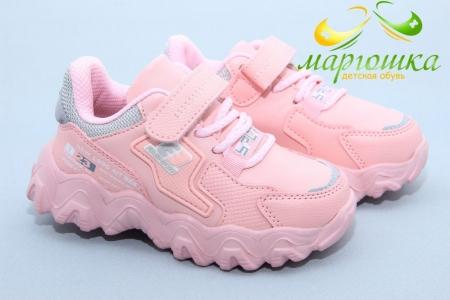 Кроссовки Tom.M 7839H для девочки розовые