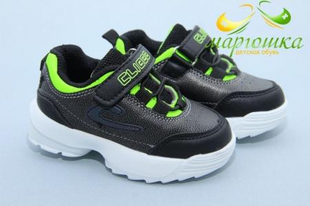 Кроссовки Clibee F929-3 для мальчика чёрные