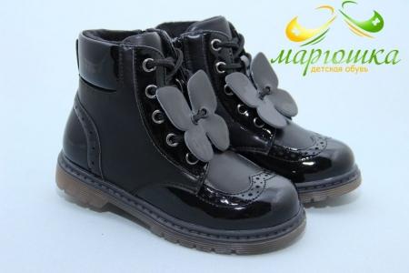 Ботинки Weestep S540-2 для девочки чёрные