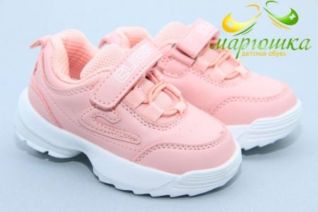 Кроссовки Clibee F929-4 для девочки розовые