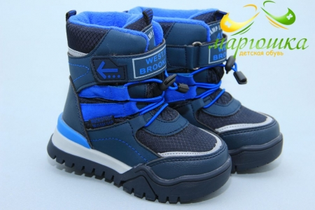 Ботинки Tom.M 7672C для мальчика синие