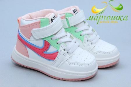 Ботинки W.Niko AG625-10 для девочки белые