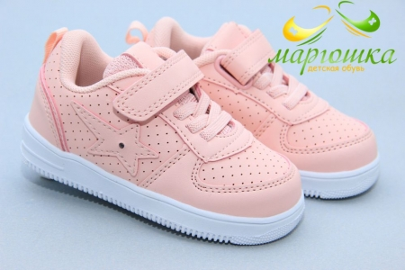 Кроссовки Biki 0796C для девочки розовые