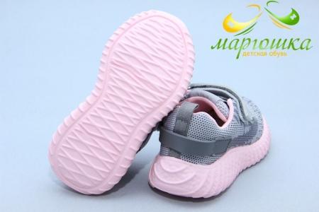 Кроссовки С.Луч L117-4 для девочки серые