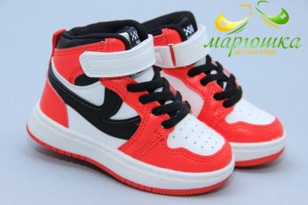 Ботинки W.Niko AG625-2 бело-красные