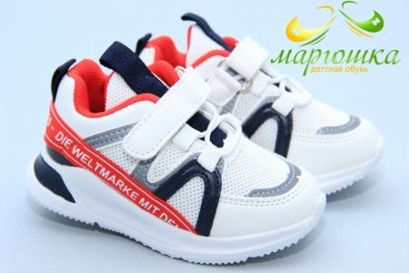 Кроссовки Kimboo KJ743-1C для мальчика белые