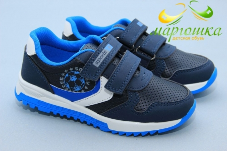 Кроссовки Weestep S543-2 для мальчика синие