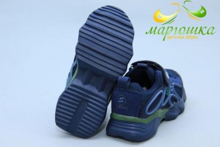 Кроссовки С.Луч L278-2 для мальчика синие