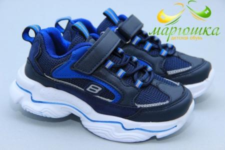 Кроссовки С.Луч L237-1 для мальчика синие