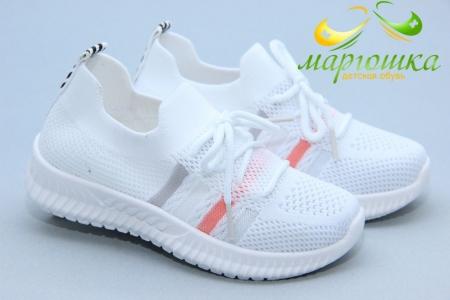 Кроссовки Tom.M 9292C для девочки белые