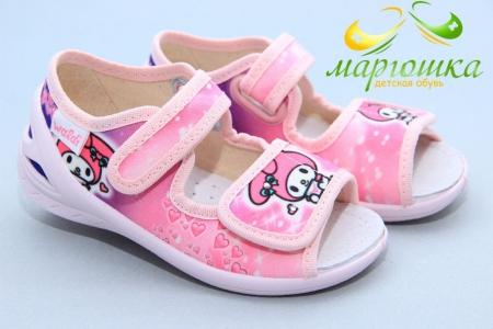Тапочки Waldi 0192 для девочки розовые