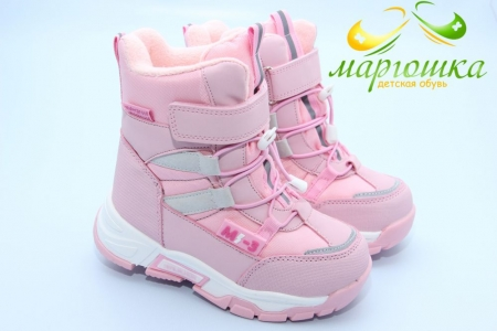 Ботинки Tom.M 9374D для девочки розовые