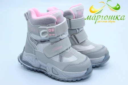 Ботинки Tom.M 9563H для девочки серые
