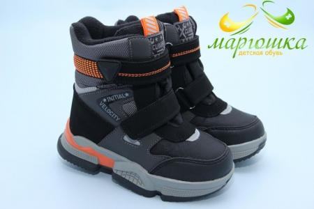 Ботинки Tom.M 9378A для мальчика черные