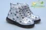 Ботинки С.Луч Q120-4 для девочки серебристые
