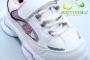 Кроссовки С.Луч L113-3 для девочки белые