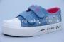 Кеды Bessky 6367-2 для девочки голубые (A)