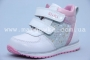 Ботинки BIKI C-B03-07-E для девочки белые (G)