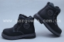 Ботинки BIKI 3953C для мальчика чёрные (A)