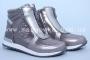 Ботинки BIKI C-B02-69-H для девочки серебристые (A)