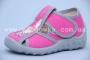 Тапочки Waldi 124-653 для девочки розовые (A)