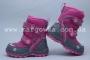 Термоботинки B&G TERMO HL197-902 для девочки розовые (A)