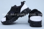 Кроссовки Apawwa C48-2 для мальчика чёрные, НА ЛИПУЧКЕ! (A)