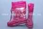 Резиновые сапоги Calorie RG-04B для девочки розовые (A)