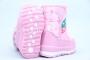 Дутики Tom.M 3877B для девочки розовые (A)
