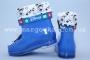 Резиновые сапоги Шалунишка E-06 для девочки синие МАЛОМЕРЯТ! (G)
