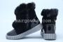 Ботинки Tom.M 3885A для девочки чёрные (A)