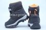 Ботинки Tom.M 3660A для мальчика чёрные (A)