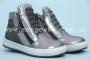 Ботинки Tom.M C-T17-77-C для девочки серебристые (G)