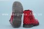 Ботинки С.Луч M570-3 для девочки красные (A)