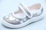Тапочки Waldi 0060 для девочки серебристые (A)