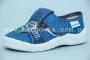 Тапочки Waldi 60/251-608 для мальчика синие (A)
