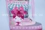 Резиновые сапоги Солнце B19 для девочки розовые (G)