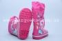 Резиновые сапоги Солнце B28 для девочки розовые (G)