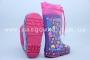 Резиновые сапоги Солнце B11 для девочки фиолетовые (A)