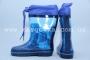 Резиновые сапоги Солнце F23 для мальчика синие (A)