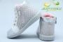 Ботинки С.Луч Y354-3 для девочки серебристые