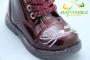 Ботинки С.Луч A09-4 для девочки бордовые