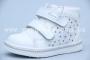 Ботинки Tom.M 3342D для девочки белые (A)