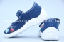 Тапочки Waldi 017 для девочки синие (A)