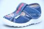 Тапочки Waldi 018 для мальчика синие (A)