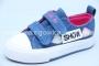 Кеды Tom.M 1360U для девочки синие (G)